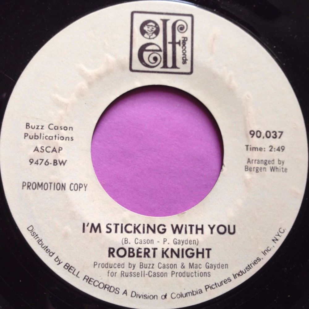 Robert Knight-I'm sticking with you-Elf WD E