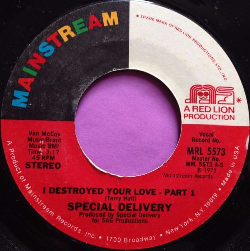 Special delivery-I destroyed your love-Mainstream E+