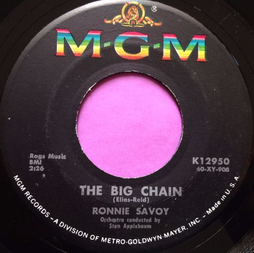 Ronnie Savoy-The big chain-MGM E+