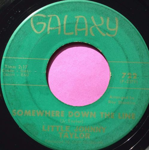 Little Johnny Taylor-Somewhere down the line-Galaxy E