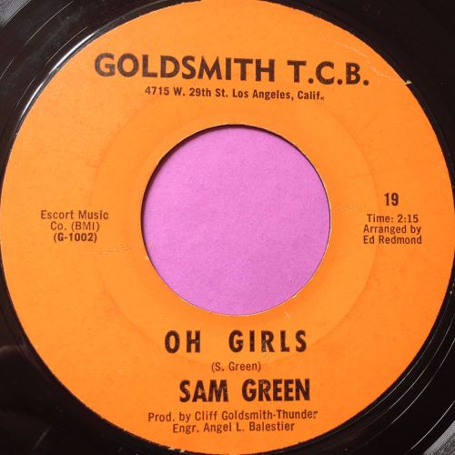 Sam Green-Oh Girls-Goldsmith TCB E
