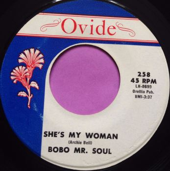 Bobo Mr Soul-She`s My woman-Ovide E+