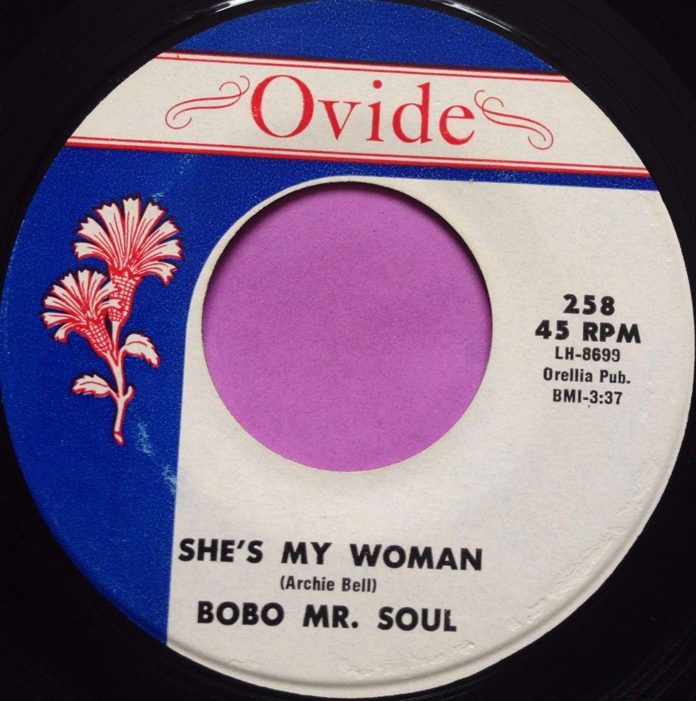 Bobo Mr Soul-She`s My woman-Ovide E+