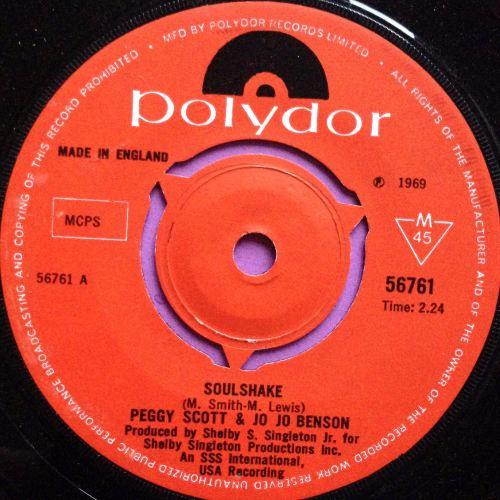 Peggy Scott & Jo Benson - Soulshake - Polydor - E