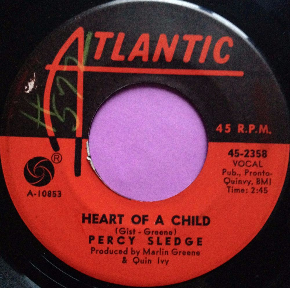 Percy Sledge-Heart of a child-Atlantic E+