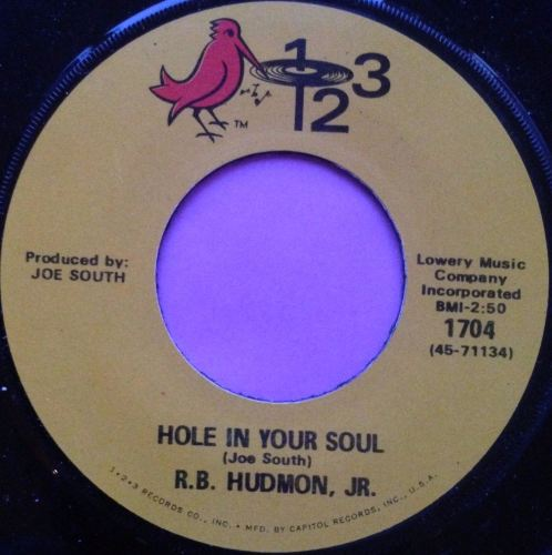 R.B Hudmon-Hole in your soul-123 M-