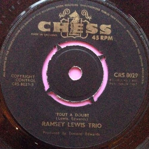 Ramsey Lewis-`Tout a doubt-Chess UK E+