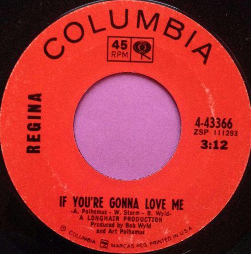 Regina-If you`re gonna love me-Columbia E+
