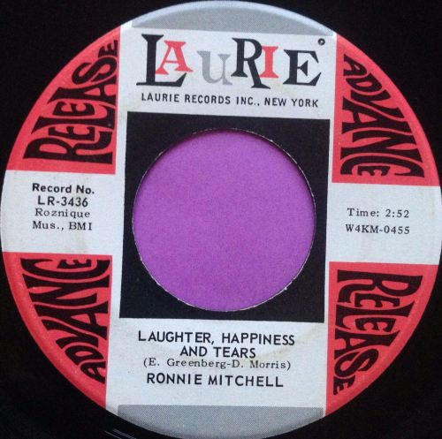 Ronnie Mitchell-Laughter happiness and tears-Laurie E
