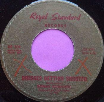 Ronny Romance-Dresses getting shorter-Royal standard E+