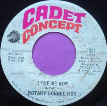 Rotary Connection-Love me now-Cadet concept E+