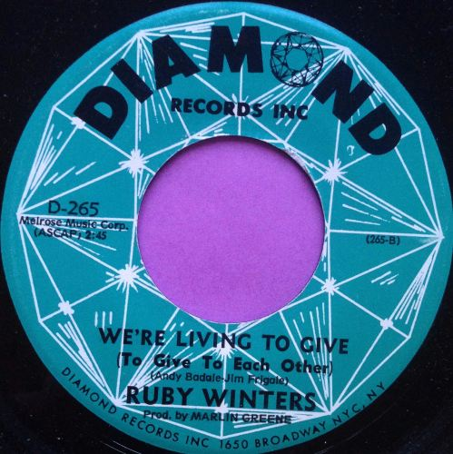 Ruby Winters - We're living to give - Diamond - E+