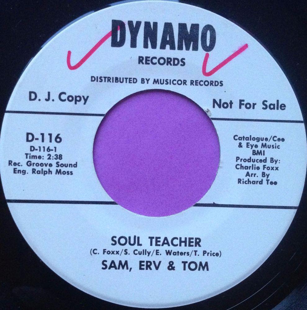 Sam, Erv, Tom - Soul Teacher- Dynamo WD - E+