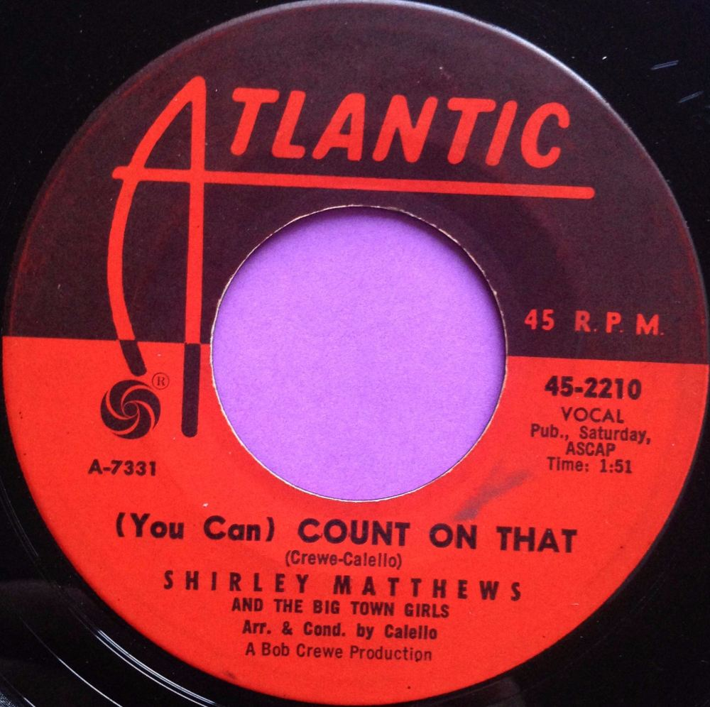 Shirley Matthews-Count on that-Atlantic E