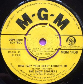 Showstoppers - How easy your heart forgets me - MGM - E+