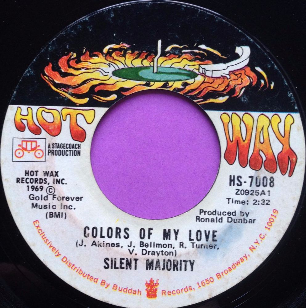 Silent Majority-Colors of my love-Hot wax vg+