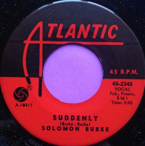 Soloman Burke-Suddenly-Atlantic E+
