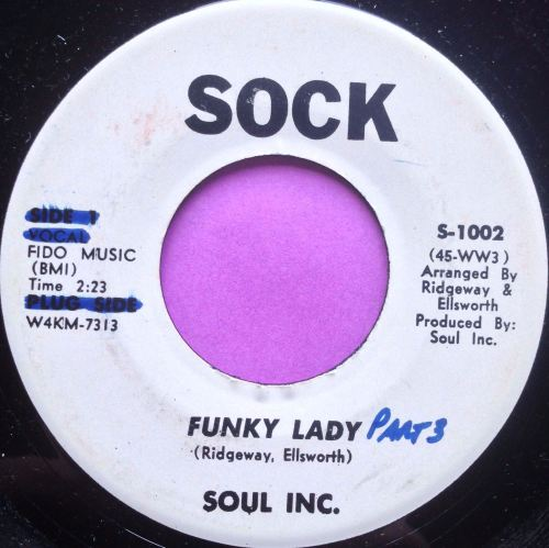 Soul inc-Funky lady-Sock wol M-