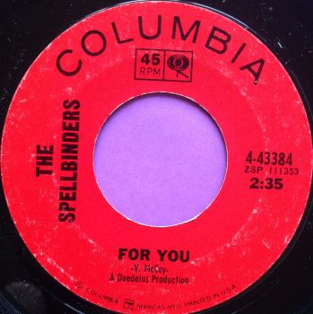 Spellbinders-For you-Columbia E+