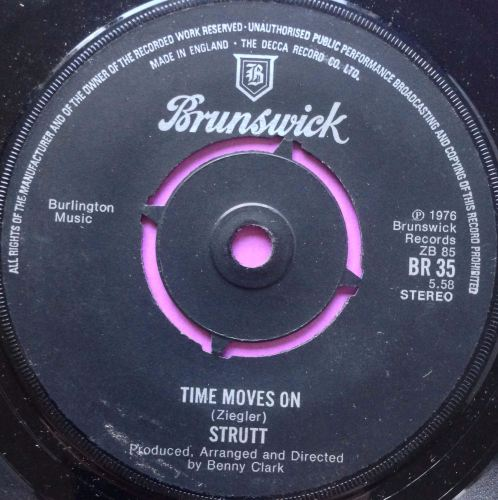 Strutt-Time moves on-Brunswick E+