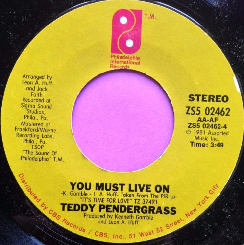 Teddy Pendregrass- You must live on-PIR E+