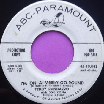 Teddy Randazzo- I'm on a merry-go-round- ABC demo E-