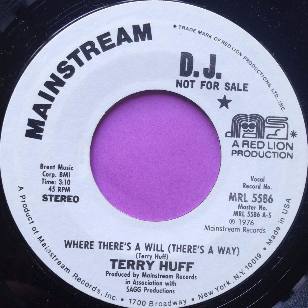 Terry Huff-Where there`s a will-Mainstream WD M-