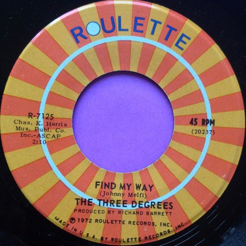 Three Degrees-Find my way-Roulette M-