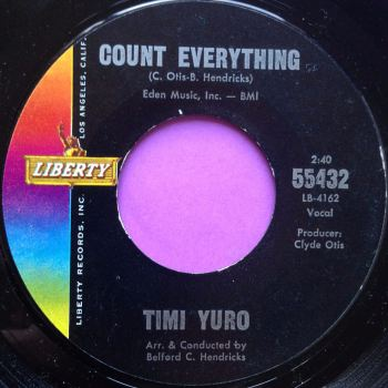Timi Yuro-Count everything-Liberty E