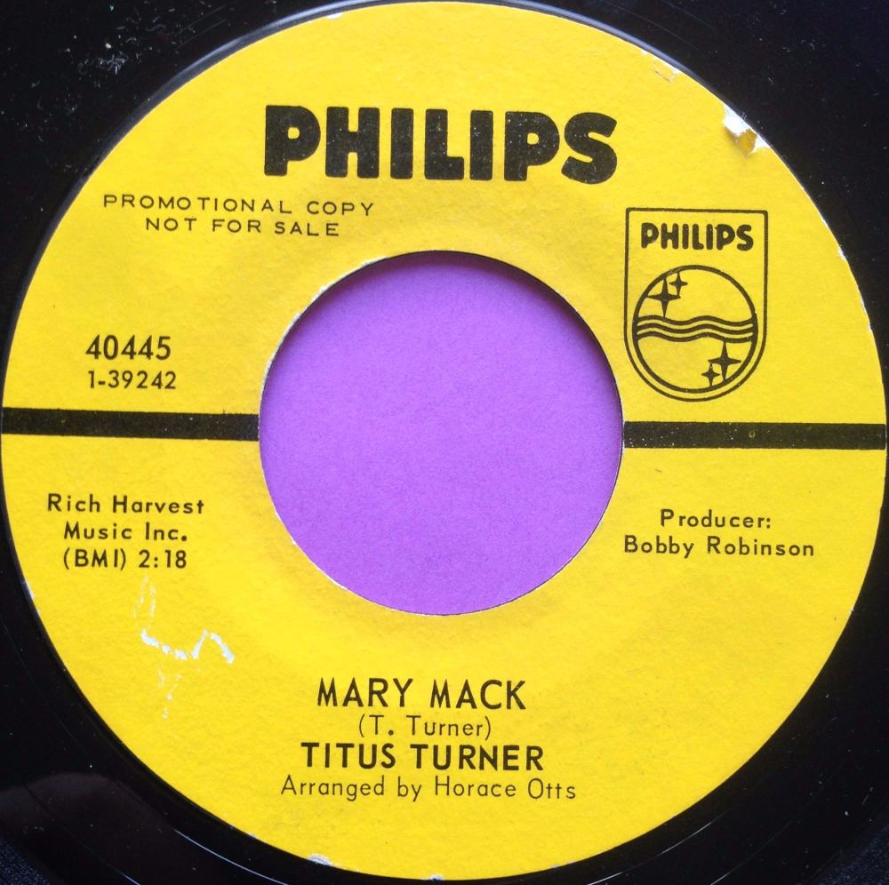 Titus Turner- Mary Mack Philips demo E+