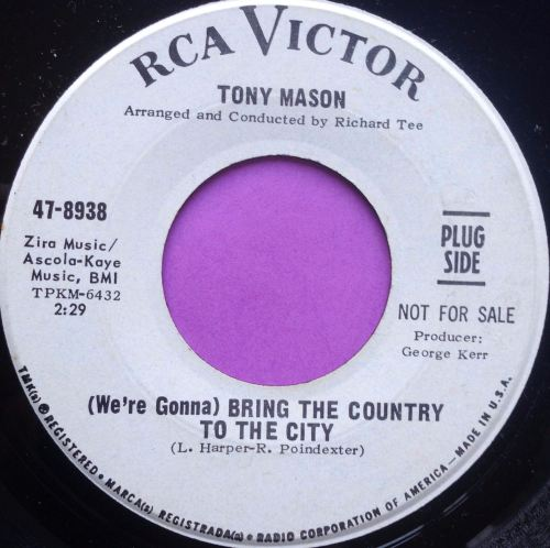 Tony Mason-Bring the country to the city-RCA WD E