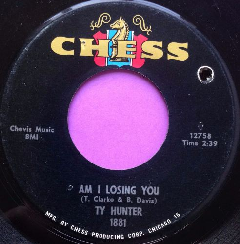 Ty Hunter-Am I losing you-Chess E