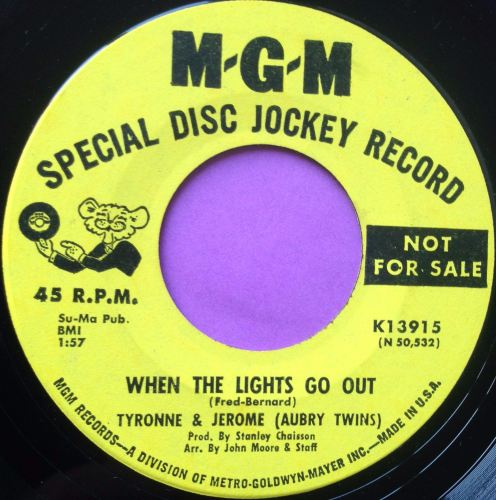 Tyrone and Jerome-When the lights go out-MGM demo E+