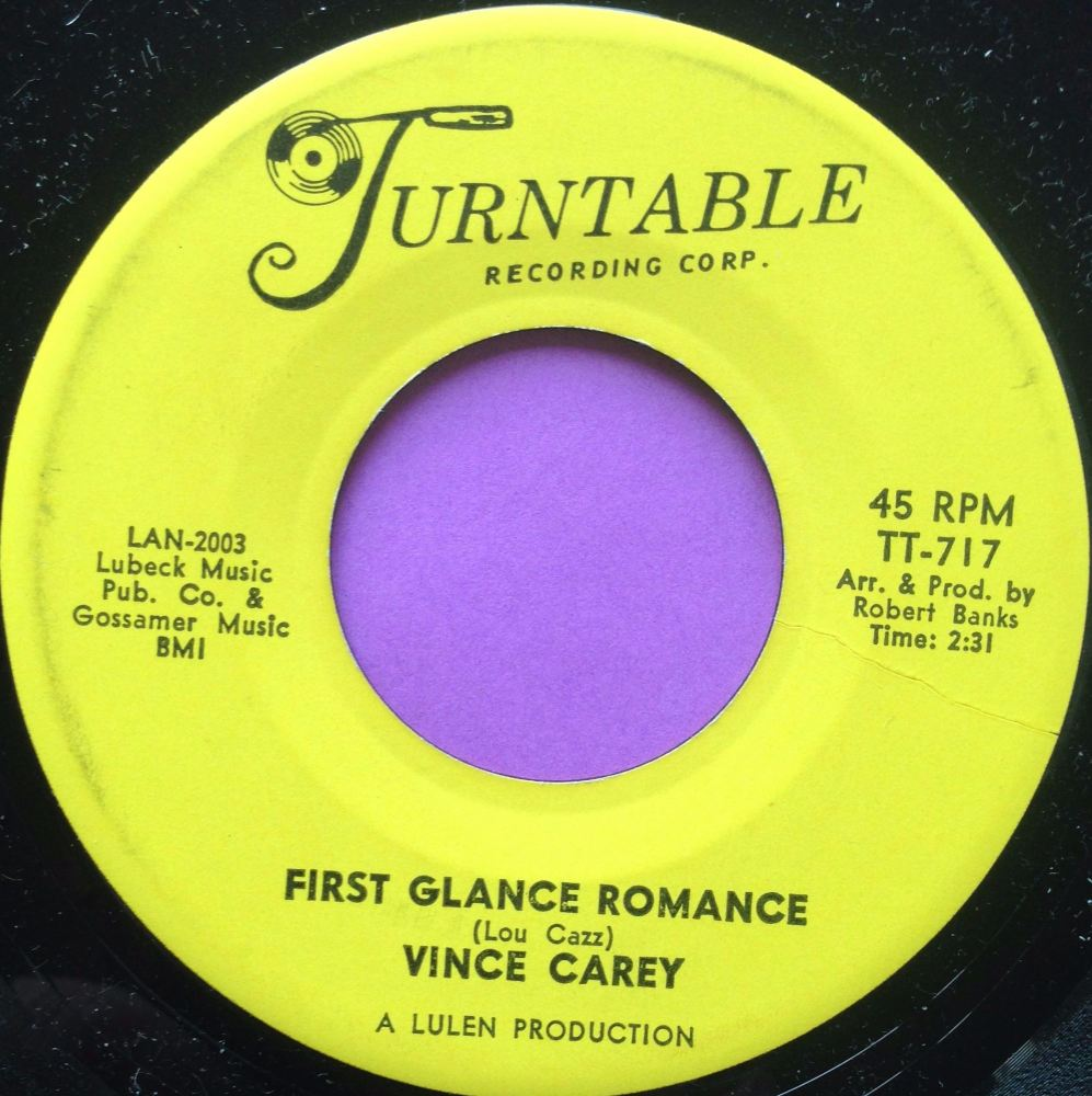 Vince Carey-First glance romance-Turntable M