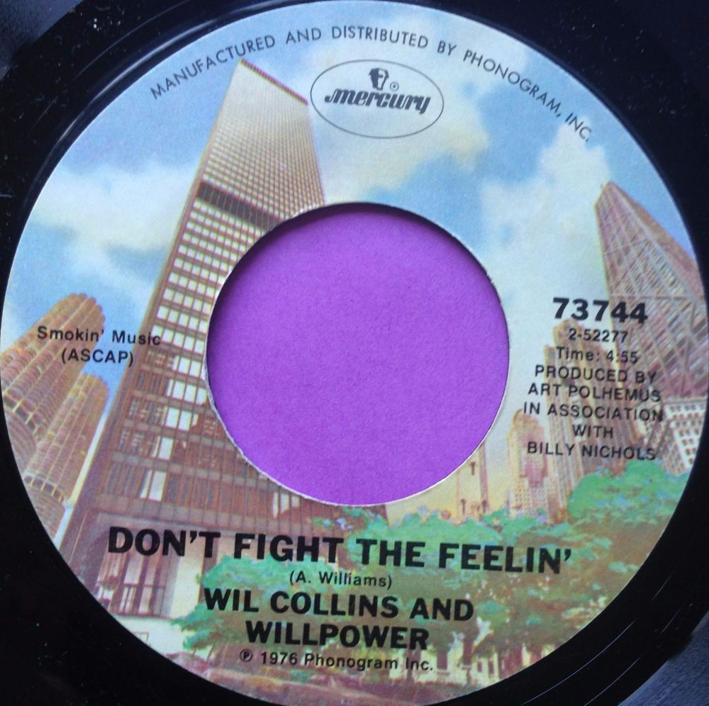 Wil Collins-Don`t fight the feeling-Mercury E+