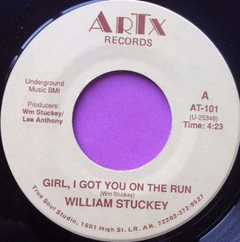 William Stuckey-Girl I got you on the run-ARTX M-