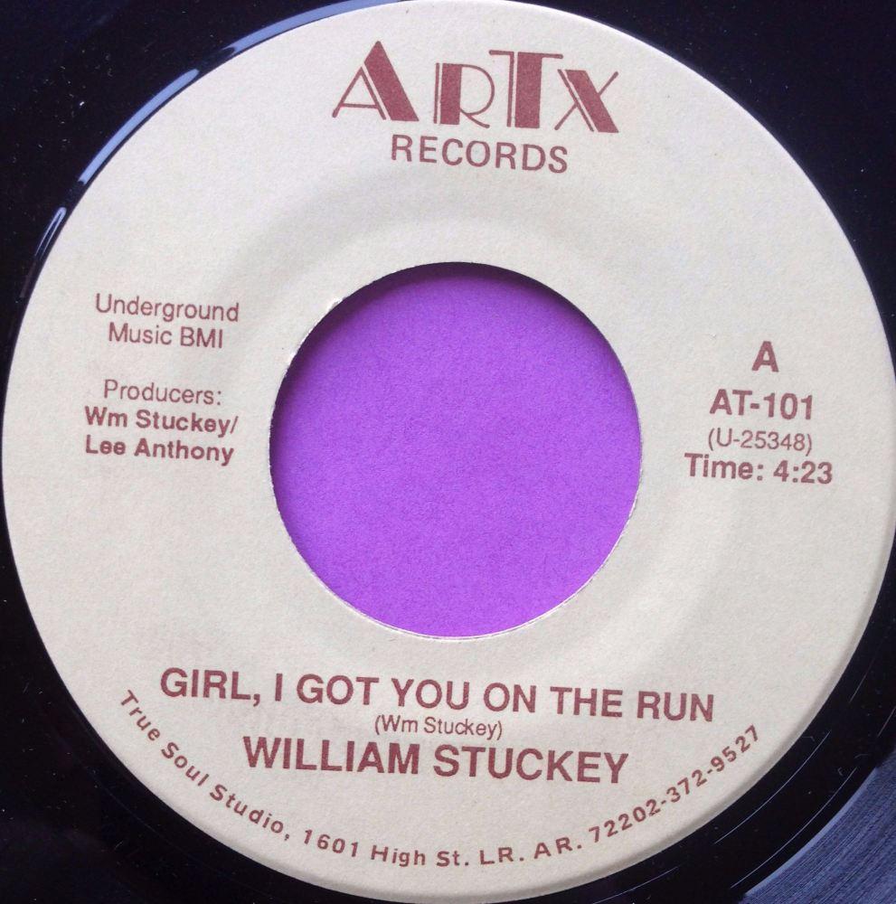 William Stuckey-Girl I got you on the run-ARTX M-