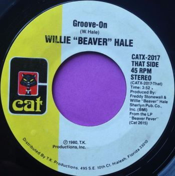 "Willie ""Beaver"" Hale-Groove on-Cat E+"