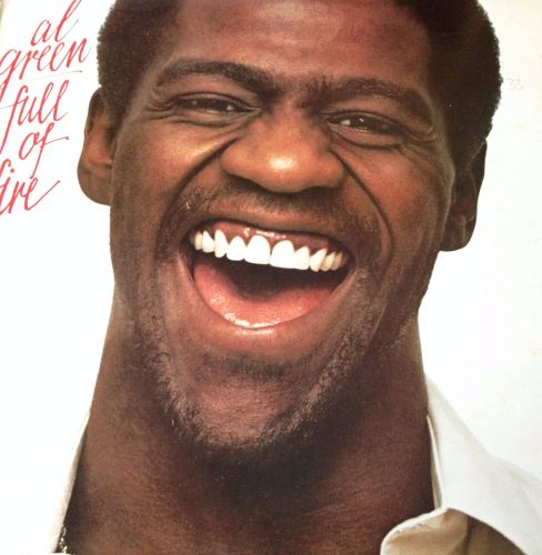 Al Green - Full of fire - London LP - E+