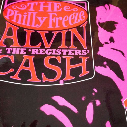 Alvin Cash - The Philly freeze - President LP - E+