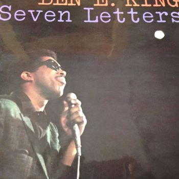 Ben E King - Seven letters - Atlantic LP - E+