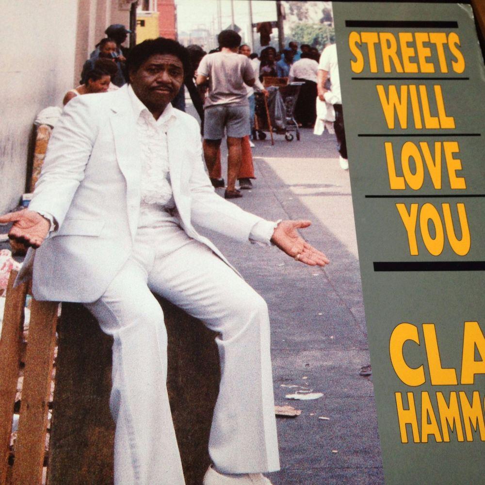 Clay Hammond - Streets will love you - Evejam LP E+