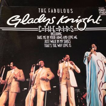 Gladys Knight and the Pips - Fabulous - MFP / Tamla LP - E+
