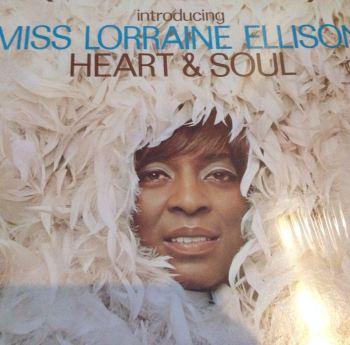 Lorraine Ellison - Heart & Soul - Canadian Warner Bros. LP - M-