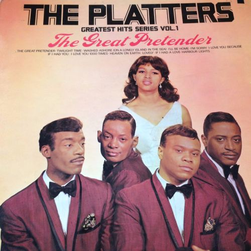 Platters - The Great Pretender - Hallmark LP - E-