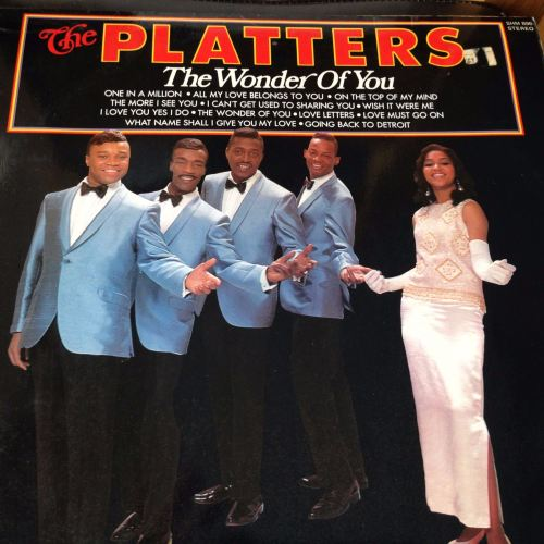 Platters - The wonder of you - Pickwick LP - E+