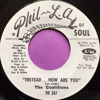 Coalitions-Instead....How are you-Philanof soul WD E+