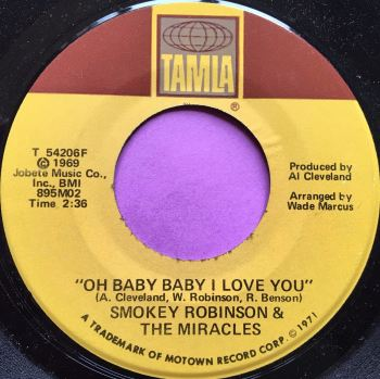 Miracles-Oh baby baby I love you-Tamla E+
