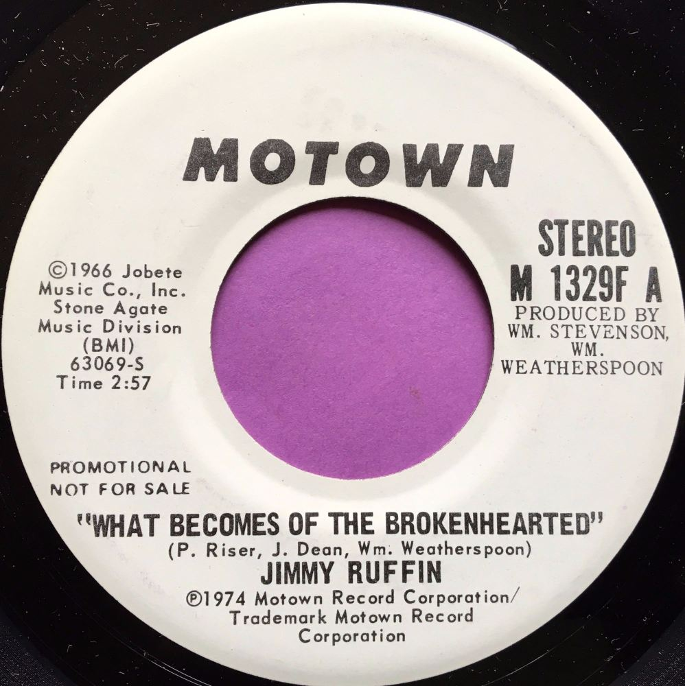 Jimmy Ruffin-What becomes of the broken hearted-Motown WD E+