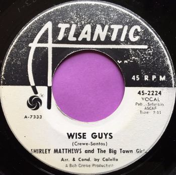 Shirley Matthews-Wise guys-Atlantic WD E